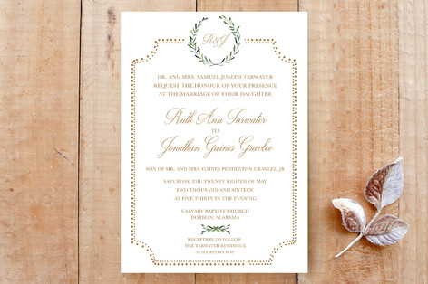 Floral formal wedding invitation cards by sydney minted floral formal wedding invitation cards stopboris Image collections