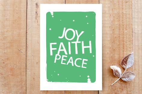 Joy, Faith & Peace Cards