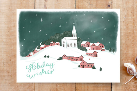 Snowy Scene 1 Cards