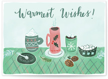 Warm Wishes & Drinks by Megan Kelso