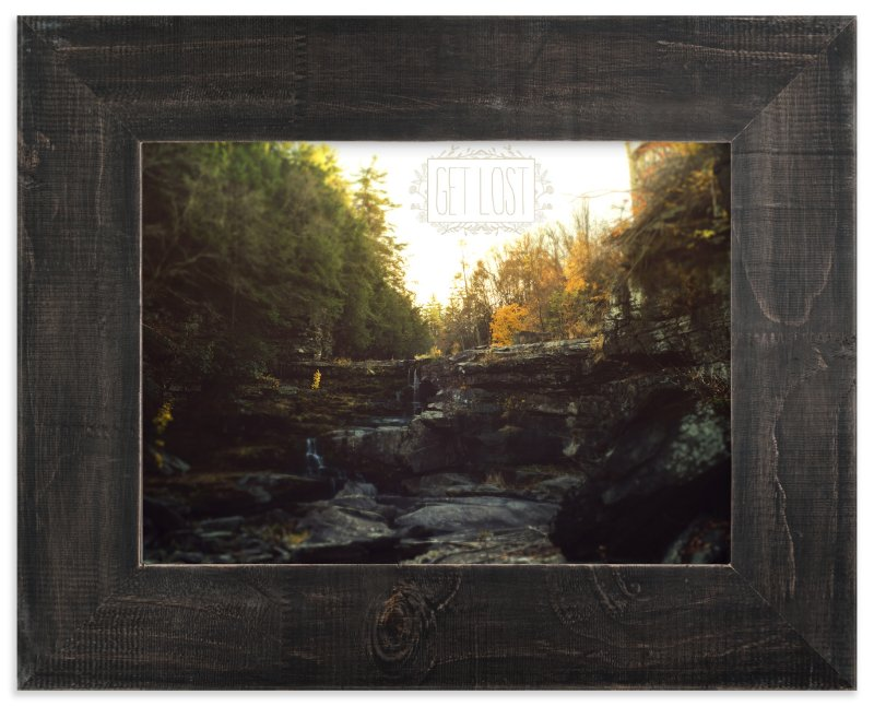 """""""Get Lost"""" - Art Print by Smile Peace Love in beautiful frame options and a variety of sizes."""