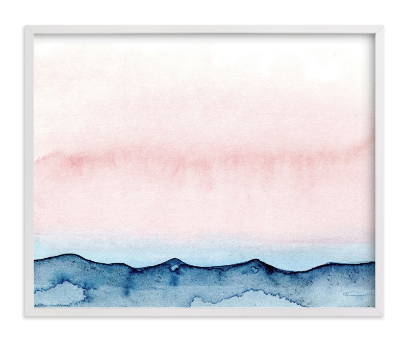 """Big Sky"" - Art Print by Me Amelia in beautiful frame options and a variety of sizes."