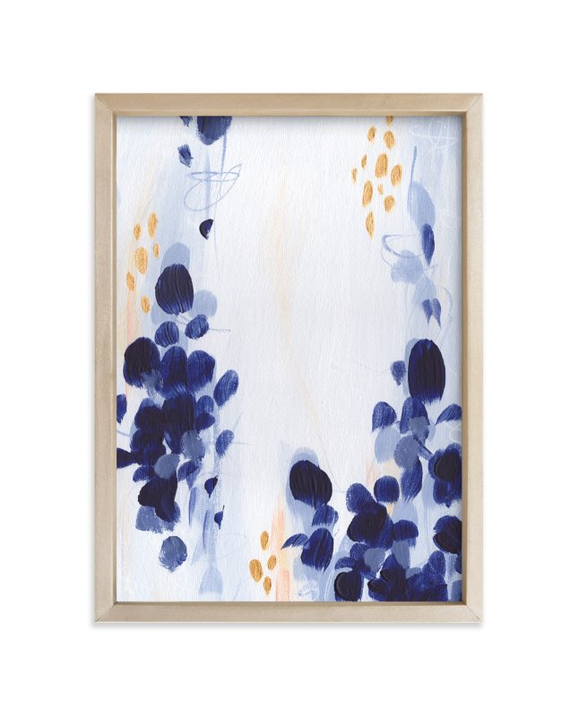 """Bluebonnets I"" - Art Print by Holly Whitcomb in beautiful frame options and a variety of sizes."