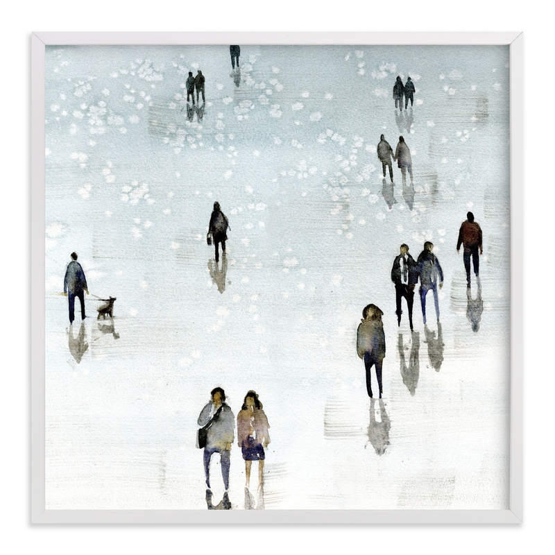 """Melancolia3"" - Art Print by Lulaloo in beautiful frame options and a variety of sizes."