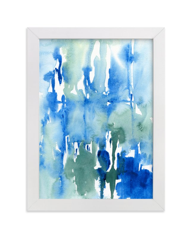 """Wash Away"" - Art Print by Chelsey Scott in beautiful frame options and a variety of sizes."