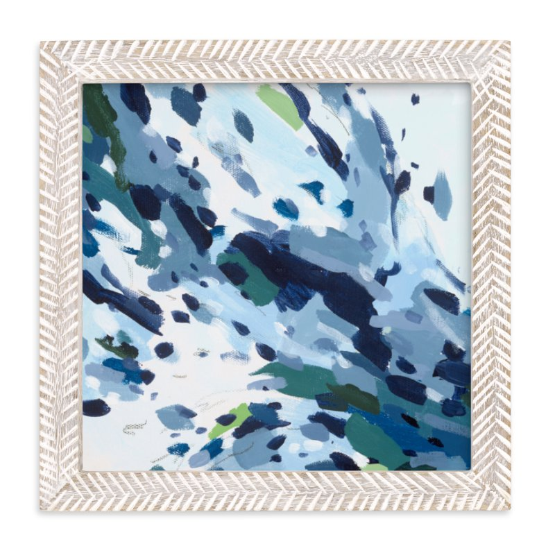 """Verdant Ocean"" - Art Print by Katie Craig in beautiful frame options and a variety of sizes."