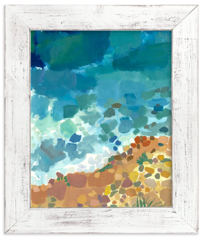 """""""Ocean Shades"""" - Art Print by Carol Dysart in beautiful frame options and a variety of sizes."""