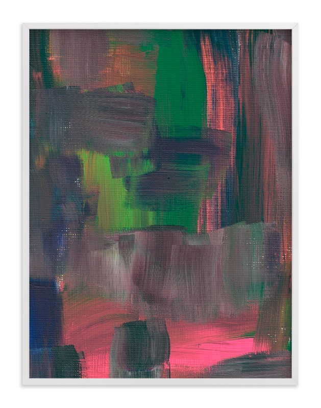 """""""Abstract Painting_8"""" - Art Print by aticnomar in beautiful frame options and a variety of sizes."""