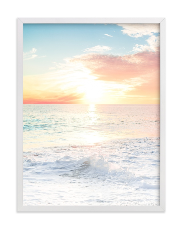 """""""SoCal Sorbet 5"""" - Art Print by Kamala Nahas in beautiful frame options and a variety of sizes."""