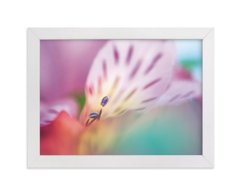 """A Sea of Color"" - Art Print by Smile Peace Love in beautiful frame options and a variety of sizes."