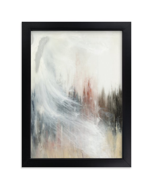 """Shift."" - Art Print by Emily Magone in beautiful frame options and a variety of sizes."