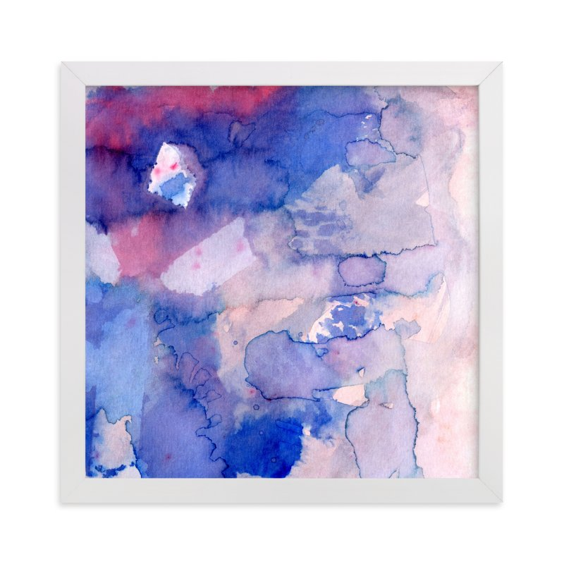 """Sky Fields 2"" - Art Print by Me Amelia in beautiful frame options and a variety of sizes."