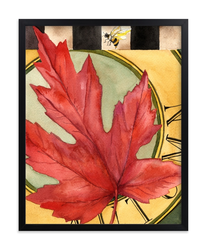 """""""Autumn I"""" - Art Print by Stephanie Toral in beautiful frame options and a variety of sizes."""