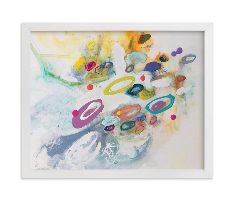 """""""Pipsqueak"""" - Art Print by Misty Hughes in beautiful frame options and a variety of sizes."""