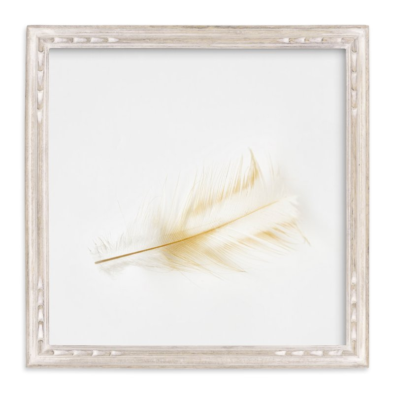 """Feather Light B - Series"" - Art Print by Michelee Scott in beautiful frame options and a variety of sizes."
