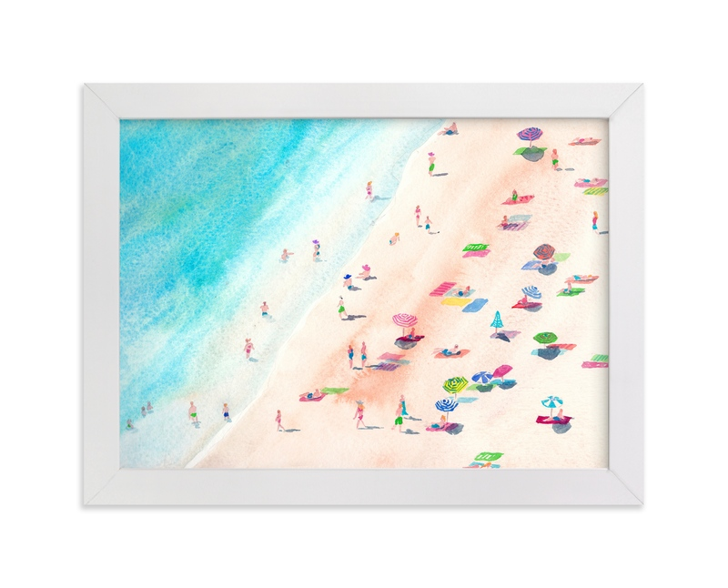 """Vacay Day"" - Art Print by Jocelyn Edin in beautiful frame options and a variety of sizes."
