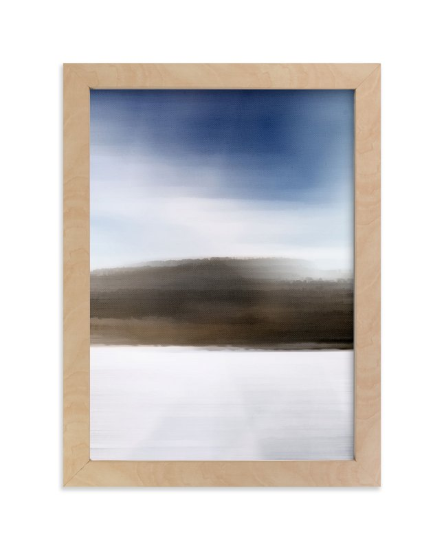 """""""Horizon Series Frost"""" - Art Print by Jennifer Morehead in beautiful frame options and a variety of sizes."""