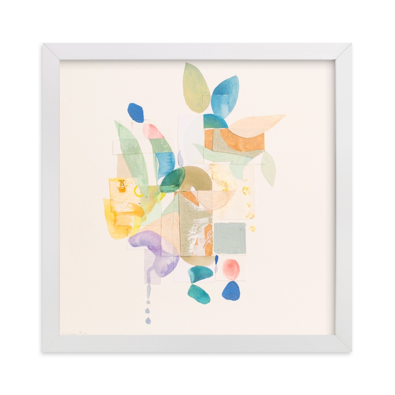 """""""Papers No. 24"""" - Art Print by Erin McCluskey Wheeler in beautiful frame options and a variety of sizes."""