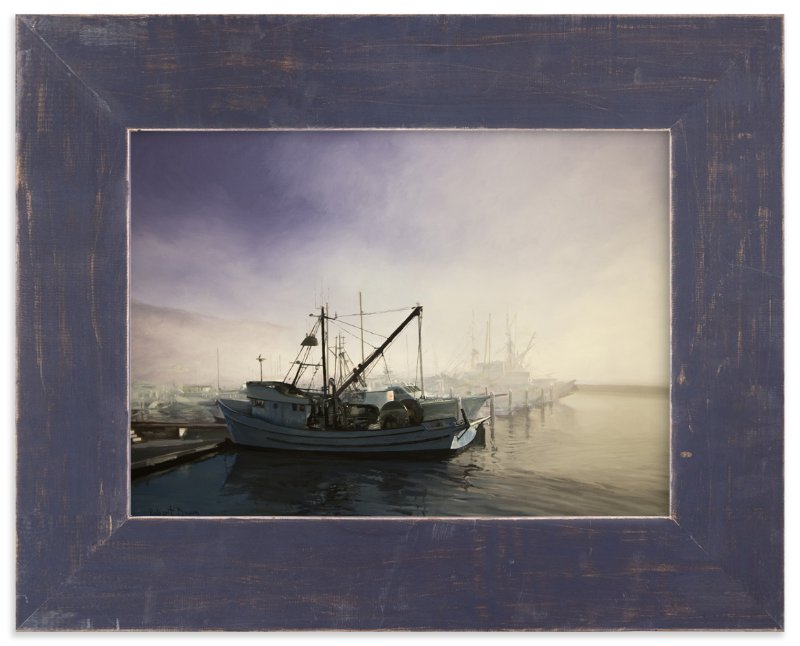 """Divergence - Pillar Point Harbor"" - Art Print by Robert Deem in beautiful frame options and a variety of sizes."