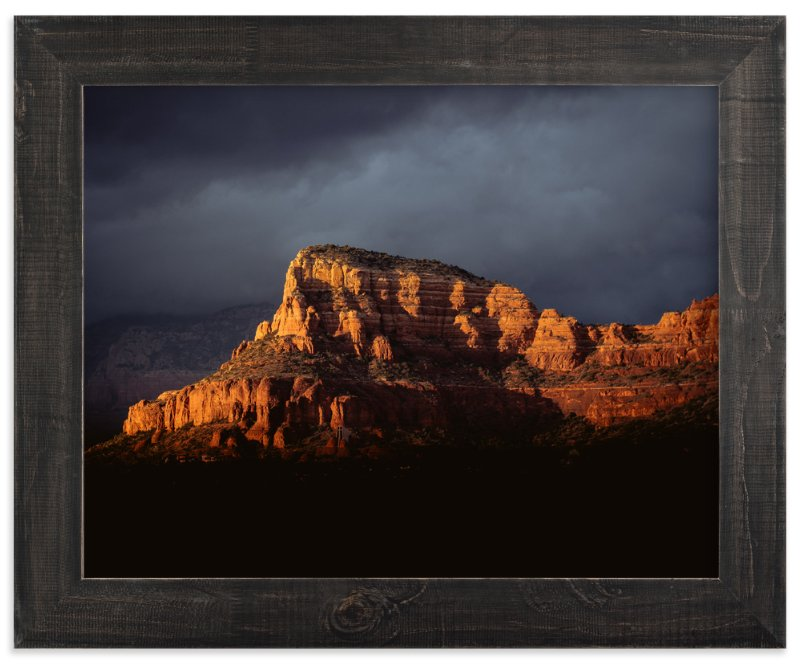 """""""Storm Over Sedona"""" - Art Print by Kamala Nahas in beautiful frame options and a variety of sizes."""