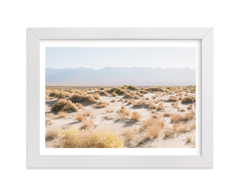"""Morning Desert Brambles"" - Art Print by Anna Western in beautiful frame options and a variety of sizes."