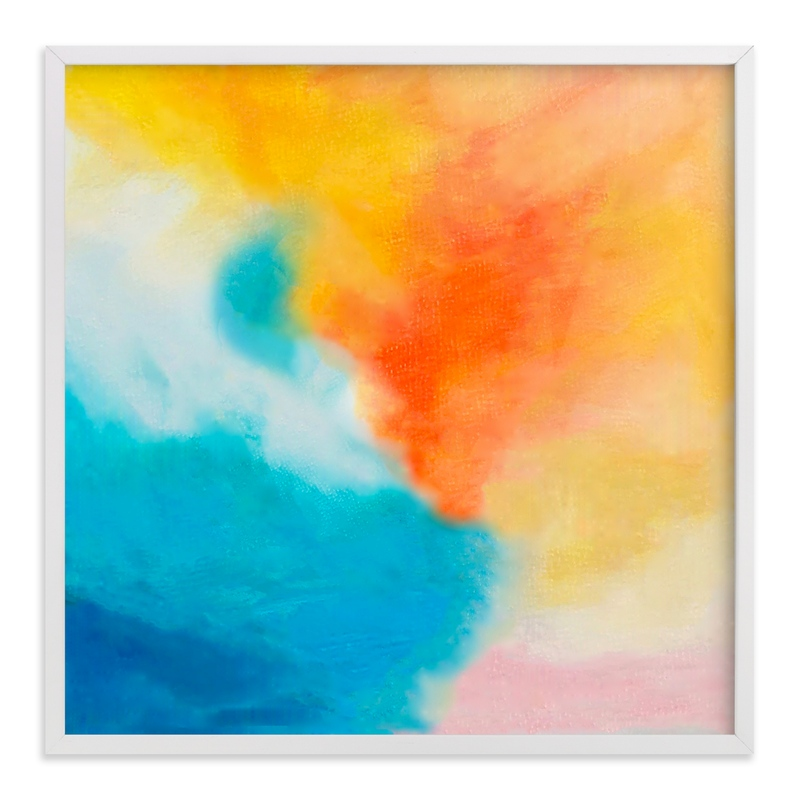 """""""Endless Summer Abstract"""" - Art Print by Melanie Biehle in beautiful frame options and a variety of sizes."""