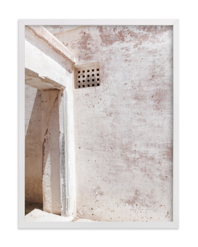 """""""Fortress II"""" - Art Print by Kamala Nahas in beautiful frame options and a variety of sizes."""