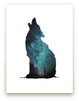 Howl at the Sky Wall Art Prints