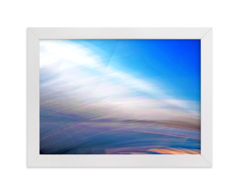 """Abstractscape25"" - Art Print by NSMARK in beautiful frame options and a variety of sizes."