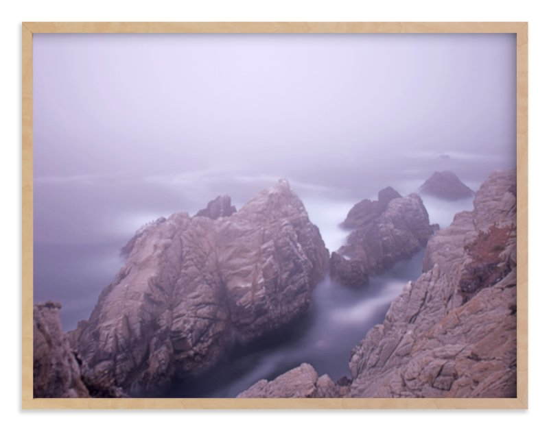 """A foggy day in Point Lobos"" - Art Print by NSMARK in beautiful frame options and a variety of sizes."
