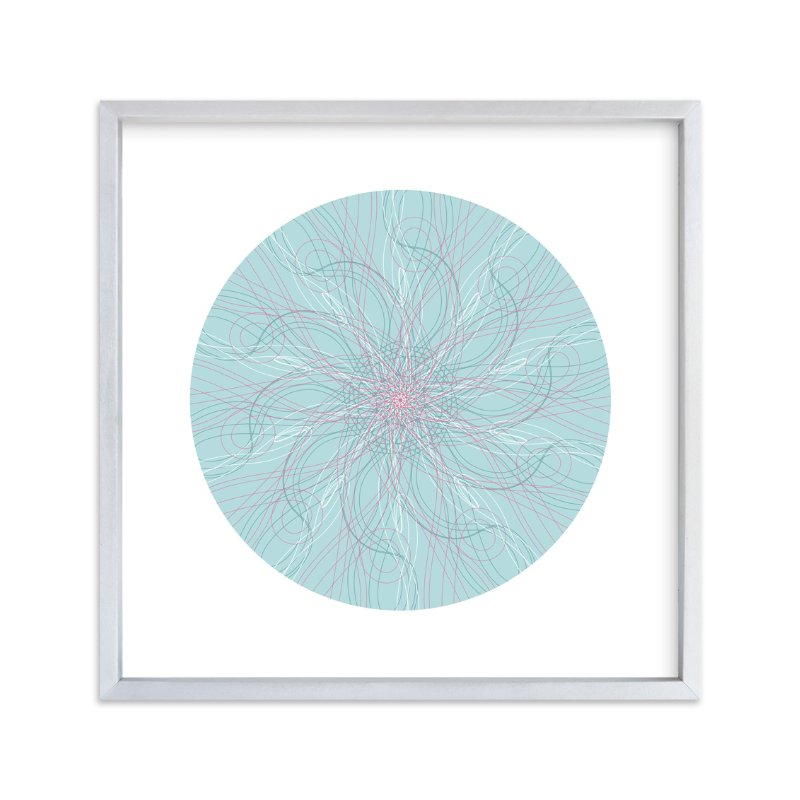 """Planet no.6 Mood"" - Art Print by Jan Shepherd in beautiful frame options and a variety of sizes."