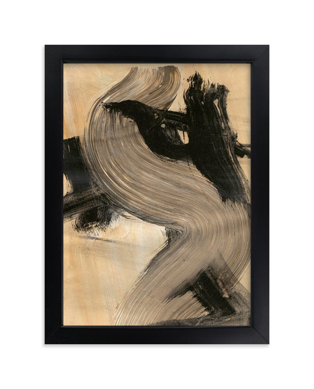 """""""Neutral Essence Series 3"""" - Art Print by Angela Simeone in beautiful frame options and a variety of sizes."""