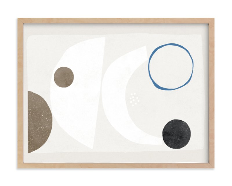 """""""Abstract no.9"""" - Art Print by Francesca Iannaccone in beautiful frame options and a variety of sizes."""