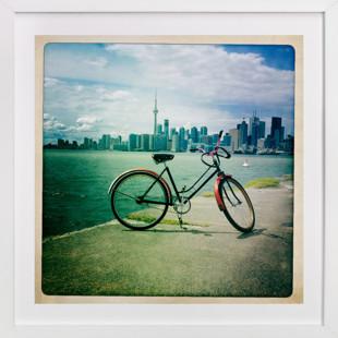 Toronto Bike 2  Art Print