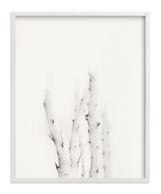 """Mytoi Tree 01 "" - Art Print by jinseikou in beautiful frame options and a variety of sizes."
