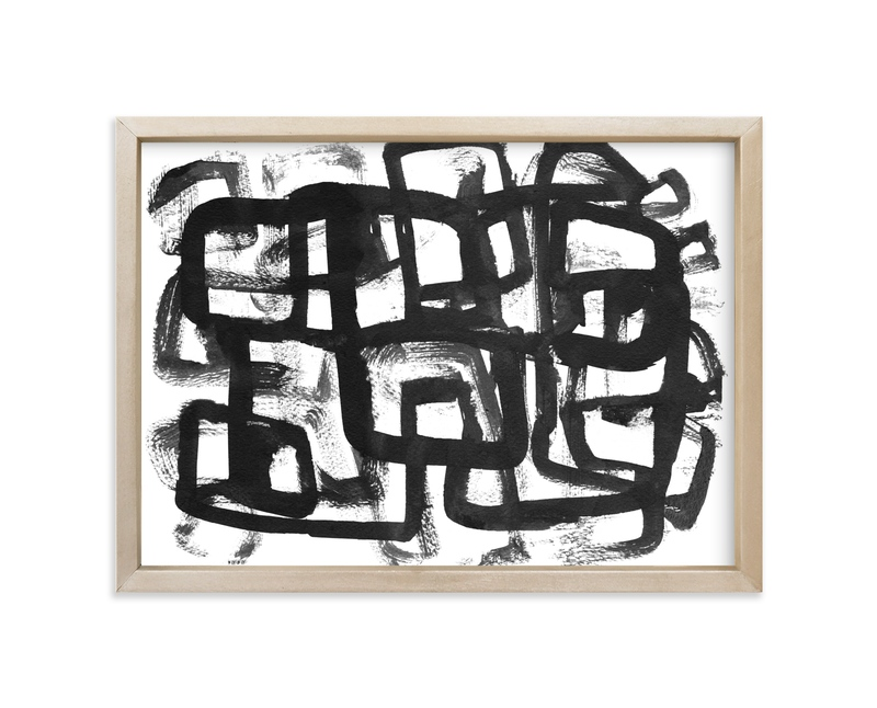 """""""Random III"""" - Art Print by Kim Johnson in beautiful frame options and a variety of sizes."""