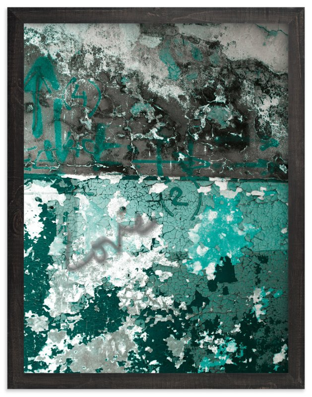 """Love on the wall"" - Art Print by Simi Gauba in beautiful frame options and a variety of sizes."