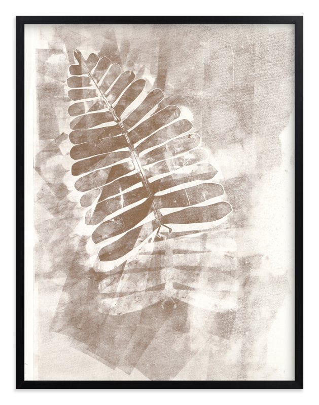 """""""Contemporary Botanical Series 2"""" - Art Print by Angela Simeone in beautiful frame options and a variety of sizes."""