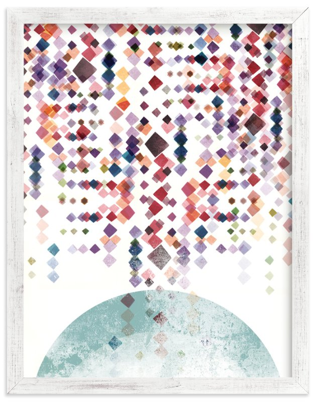 """""""Modern Spectrum"""" - Art Print by Amy Moen in beautiful frame options and a variety of sizes."""