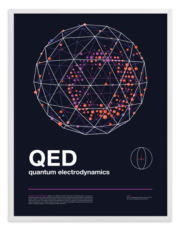 """QED 05"" - Art Print by Tyler Tea in beautiful frame options and a variety of sizes."
