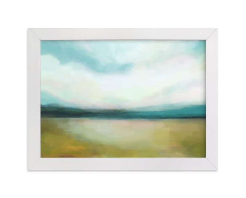 """Day Break"" - Art Print by Alison Jerry Designs in beautiful frame options and a variety of sizes."