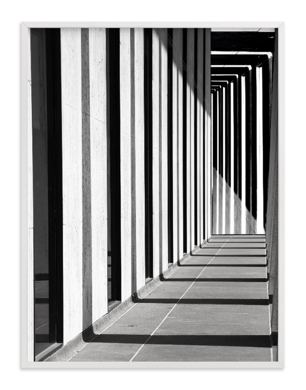 """Breezeway"" - Art Print by van tsao in beautiful frame options and a variety of sizes."