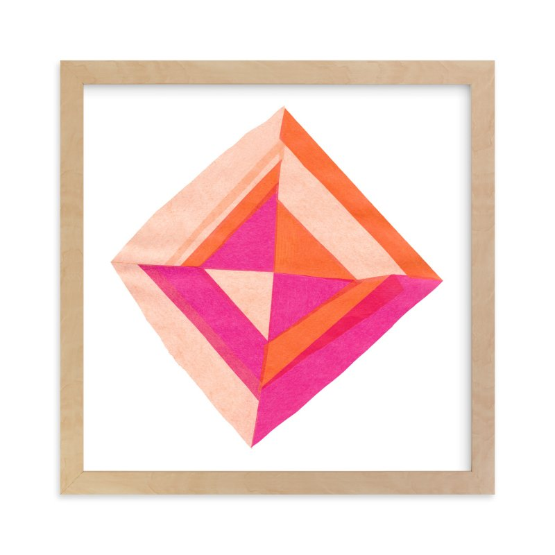 """Modern Patchwork"" - Art Print by Kelly Nasuta in beautiful frame options and a variety of sizes."