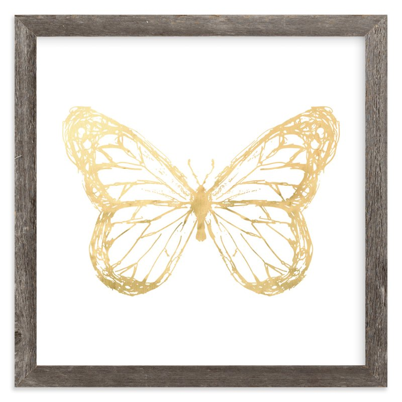"""""""Wings at Work"""" - Art Print by rose lindo in beautiful frame options and a variety of sizes."""