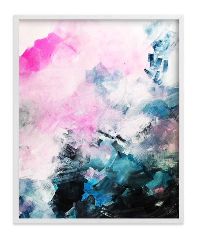 """""""Mood Swing"""" - Art Print by Melanie Biehle in beautiful frame options and a variety of sizes."""