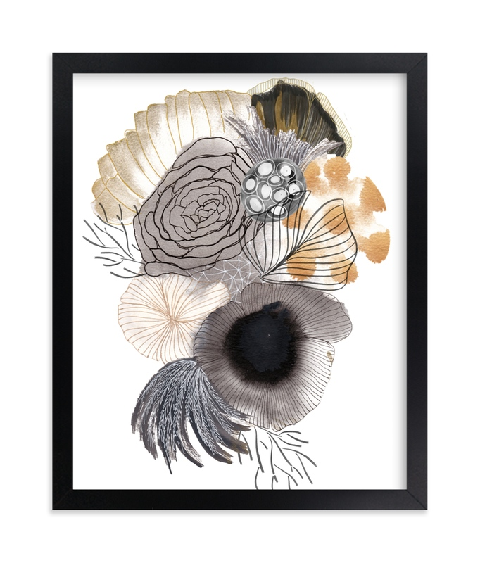 """""""From the Ashes"""" - Art Print by Maggie Burns in beautiful frame options and a variety of sizes."""
