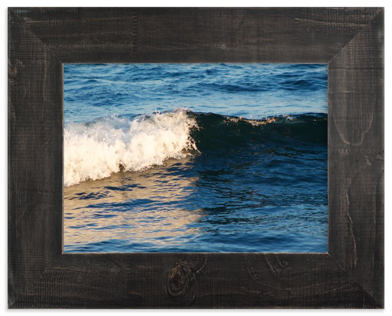 """Portrait of a Wave"" - Art Print by Erin Sadowski in beautiful frame options and a variety of sizes."