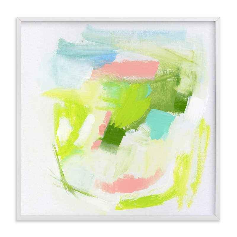 """""""Summer Holiday"""" - Art Print by Lindsay Megahed in beautiful frame options and a variety of sizes."""