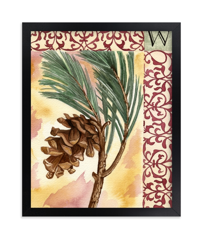 """""""Winter I"""" - Art Print by Stephanie Toral in beautiful frame options and a variety of sizes."""