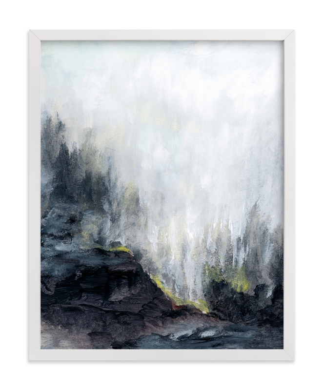 """""""The Clearing"""" - Art Print by Mande Calhoun in beautiful frame options and a variety of sizes."""